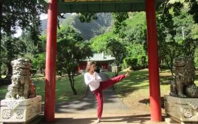 Goddesses Do Martial Arts!